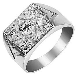 Серебряные кольца – мужские печатки всегда в моде | 263x263