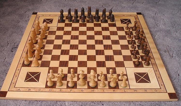 Виды шахмат_четверные