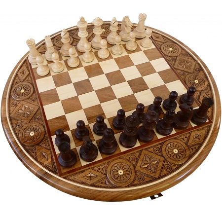 Виды шахмат_на круглых досках