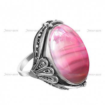 """Серебряное кольцо """"Фламинго"""" - купить в Москве, цена от производителя"""